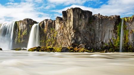 Godafoss Waterfall Iceland photo