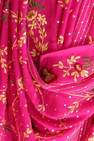 sari: indian fabric
