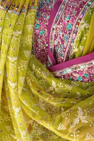 sari: India tejido