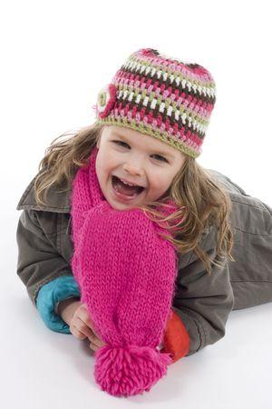 fille hiver: hiver fille Banque d'images