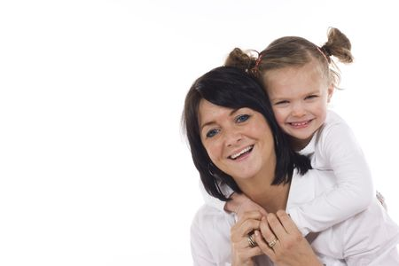 loving mother and daughter having fun Stock Photo - 2600656