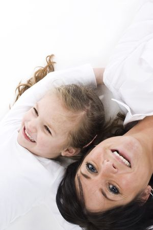 loving mother and daughter Stock Photo - 2600689