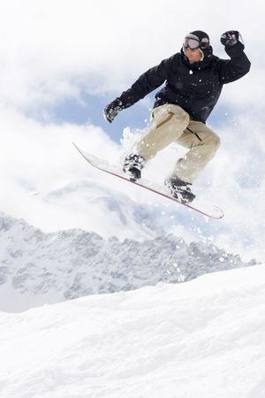 extreme snowboarding Stock Photo - 2792477
