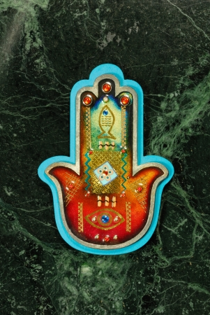 A Hamsa on a universe background