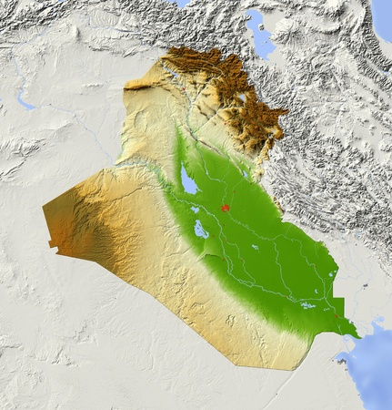 reliefs: Iraq.  Stock Photo