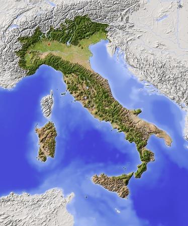 italy map: Italy
