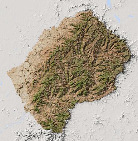 lesotho: Lesotho.   Stock Photo
