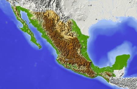 terrain: Mexico
