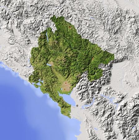 bathymetry: Montenegro