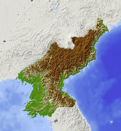 bathymetry: North Korea