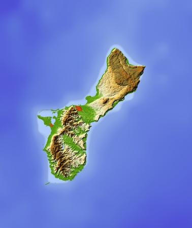 guam: Guam.   Stock Photo