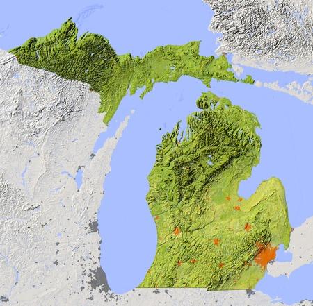 Michigan.  Stock Photo