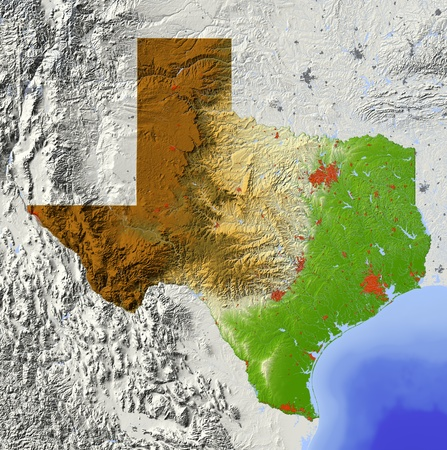Texas.  Stock Photo