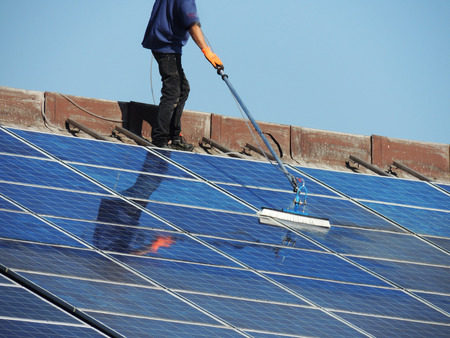 photovoltaic cleaning