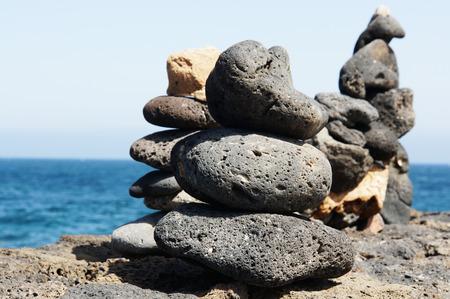 balanced rocks: Stone balance Stock Photo