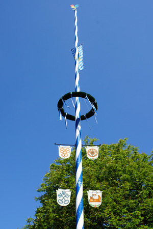 maypole: Maypole Stock Photo