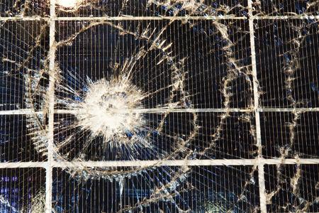 Damaged Solar Cells photo