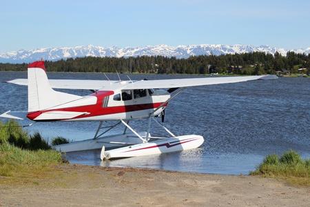 Floatplane on Beluga Lake
