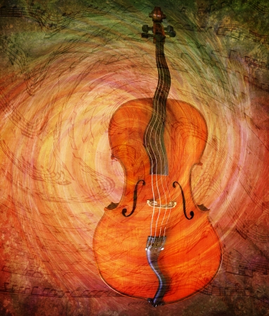 Surreal distorted cello with textures of swirling music.