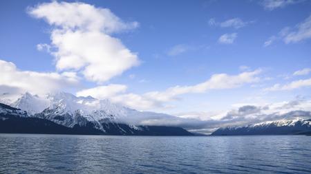southeast alaska: Beautiful day in Southeast Alaska on the Chilkat Inlet. Stock Photo