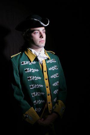 cocked hat: Romanticism of military service XIX or XVIII century