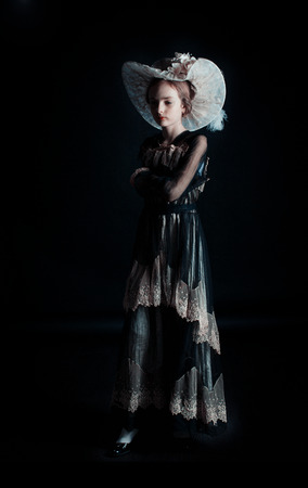 xx century: In style end of the XIX begining of the XX century the dress belongs to her great-great grand mother and it is from the begining of 1900