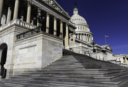 lobbyists: The Capitol Building, Washington, DC, USA  Stock Photo