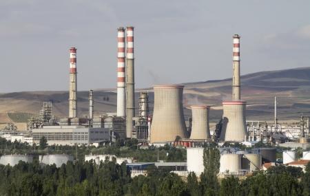 petrolium: Oil refinery, Kirikkale, Turkey