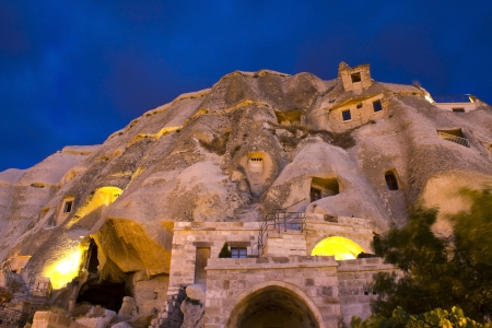 geological formation: Cappadocia, Turkey. Stock Photo