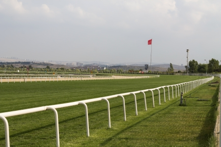 cavallo in corsa: Horse Racing Track, Ankara, Turchia