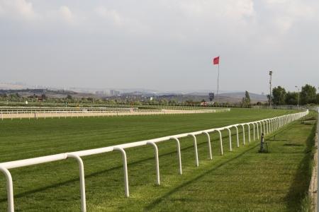 horse racing: Horse Racing Track, Ankara, Turquía