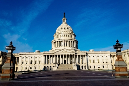 lobbyists: The Capitol Building, Washington, DC, USA. Stock Photo