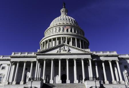 white house: Washington DC , Capitol Building - detail, US