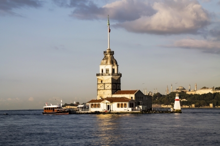 Istanbul, Maiden Tower photo