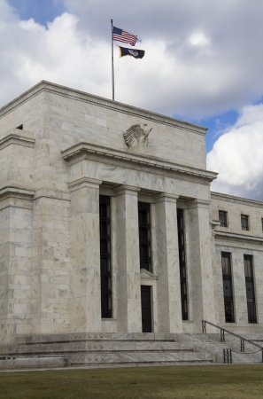 gold standard: Federal Reserve Building, Washington, DC Editorial