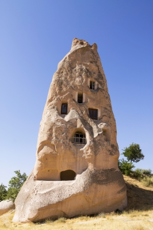 cave house: A cave house in Cappadocia, Turkey