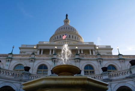 lobbyists: United States Congress Building - Capitol, Washington, DC, USA. Editorial