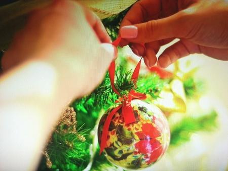 adorn: Adorn the chriatmas tree
