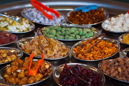 Candied Fruits Trockenfr� different taste for
