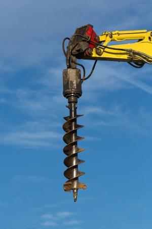 hydraulische Bohrer für den Posten Aushub