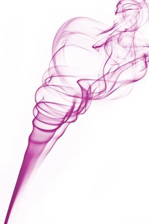 incense smoke plume one - column of smoke Stock Photo - 17511602