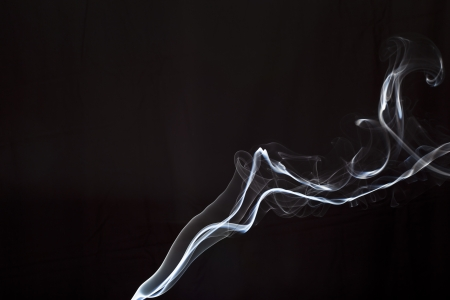 fog of incense stick - a column of smoke of incence stick Stock Photo - 17511606