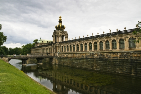 Crown Tower of the Zwinger in Dresden