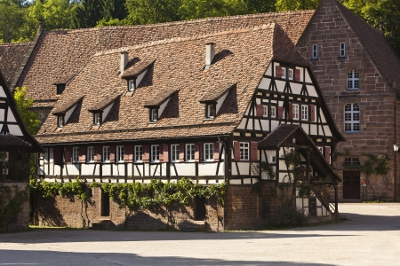 maulbronn monastery where hermann hesse spent his childhood - maulbronn monastery where the author has hermann hesse spend his childhood