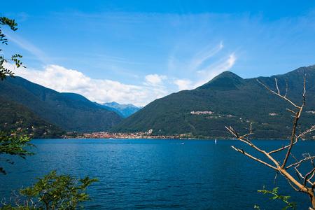 Cannobio at the Lago Maggiore Banco de Imagens