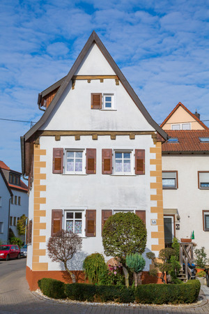 typical: typical old german house