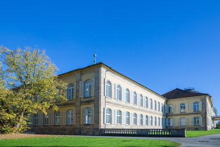 economic botany: castle of the university Hohenheim in Plieningen near Stuttgart