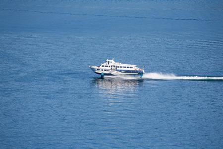 lago: speed ferry at the lago maggiore