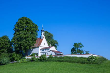 Nice old chapel at Wolfegg near Weingarten in Germany