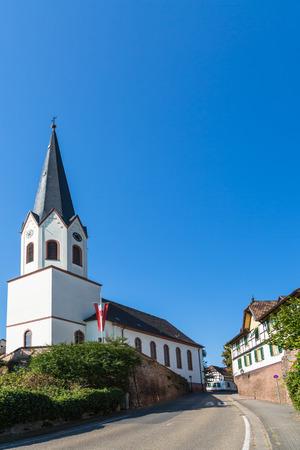 Old church in Jockgrim in Germany